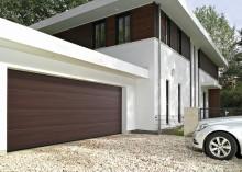 Nya garageportsytor med unikt dekortryck från Hörmann