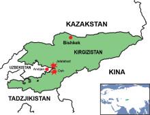 Hjälp till våldsoffer i Kirgizistan