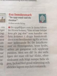 En uppföljare som är ännu bättre än första boken - skriver Lotta Olsson i DN