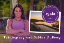 Träningsweekend med Sabina Dufberg