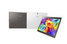 Fantastiske farger med nye Samsung Galaxy Tab S