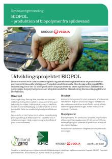 BIOPOL – produktion af biopolymer fra spildevand