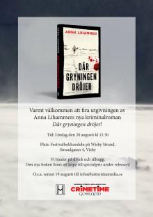 Release för Anna Lihammers nya krim!
