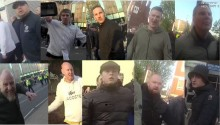 Appeal to identify men re disorder before Tottenham v Ajax match in April