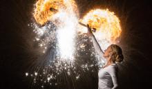 För att skapa dialog kring den nya aktivitetsparken på Björkås bjuder Förbo in till ljusfest