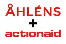 Stöd ActionAid på Åhléns