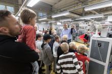 Icehearts-pojat valtasivat sukkatehtaan Ylöjärvellä