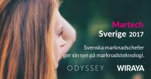 Ny rapport: 'Martech i Sverige 2017' visar svenska marknadschefers syn på Marketing Technology