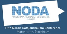 Nordic Data Journalism Conference arrangeras på Södertörns högskola den 15-17 mars