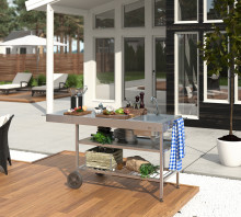 Köket flyttar utomhus