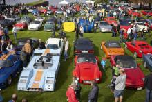 Batmobil, Mustangutställning och mycket mer - på Sportvagnsträffen 2014