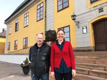 Falu Gruva lånar ut klädlager till Kompis Falun