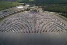 Ford sætter rekord med verdens største Mustang-parade