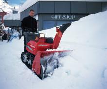 Honda lanserar tre nya snöslungor varav en hybridslunga!