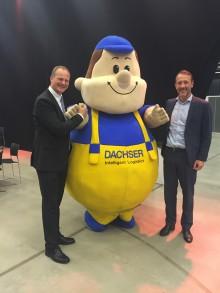 Dachser ble tildelt prisen for beste utstiller på  Transport og Logistikk 2016.
