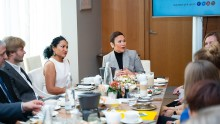 Первая женщина – генеральный директор QNET Малу Калуза впервые посетила Россию