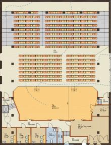 Lindeskolans aula byggs om - men möjligheten till större teaterscen missas