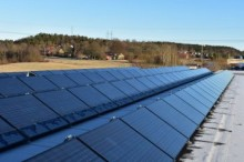 Systemteknik installerar Lerums största solcellsanläggning