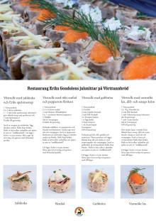 Recept: Gondolens julsnittar på Vörttunnbröd