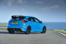Az új Opciós Csomag még élvezetesebbé varázsolja a Ford Focus RS vezetési élményét