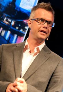 Magnus Thomson kan bli årets centrumutvecklare