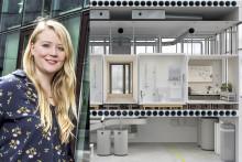 Nicoles studentliv mäts av sensorer i levande forskningsmiljö