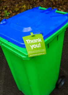 Bin collection dates for the festive period