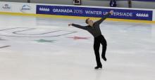 Konståkaren Marcus Björck från Lund vidare till final på Universiaden - studentidrottens motsvarighet till ett olympiskt spel