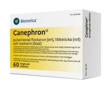 Nyhet Caneprhon® för att lindra symptom vid urinvägsinfektion och svidande känsla när man kissar