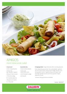 Opskrift: Amigos tex-mex burritos med mexicansk inspireret salat