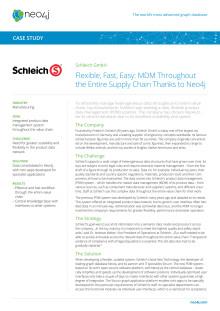 Case study: Schleich – en av Europas ledande leksakstillverkare håller samman masterdata med Neo4j