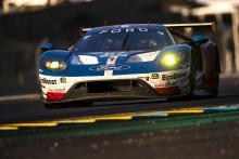 Ford GT mit der Startnummer 67 wird in packendem Finish Zweiter beim Langstrecken-Klassiker