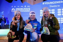 Svenskt JVM-brons i slalom