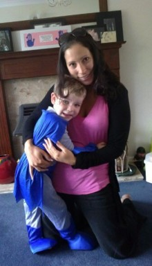 Louise Sampson takes on fear and jumps 10,000 feet  for her nephew