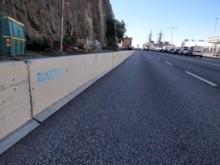 Ramirent ökar säkerheten vid vägarbetet på Stadsgårdsleden i Stockholm
