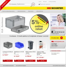 SSI Schäfer A/S lancerer webshop