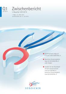 Zwischenbericht 1. Quartal 2013/14 1. März - 31. Mai 2013 veröffentlicht am 11. Juli 2013