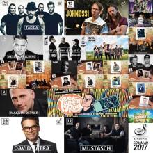 Villa Strömpis presenterar artisterna för sommaren 2017