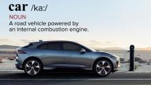 Jaguar vil ændre definitionen af ordet bil