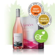 Les Fumées Blanches Rosé - hyllat vin med fokus på hållbar vinodling!