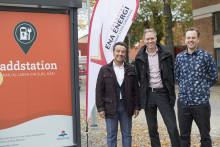 Mälarenergi och ENA Energi i samarbete för att bygga Laddregion Mälardalen.