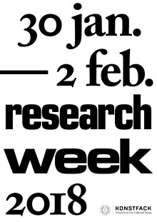 It's all about research – welcome to a rich programme about matter and becoming, forms of thought, collectivity, solidarity, and more!