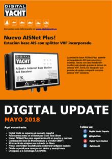 Digital Yacht Update 2018 - Nuevos productos y soluciones en la electrónica marina