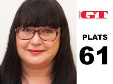 Maria Gustafsson är bland västsveriges mäktigaste 2013