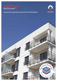 Broschyr - Thermotech MultiLevel - golvvärme i flervåningshus