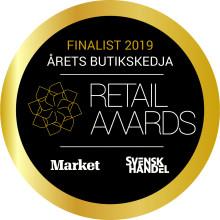 Synsam Sveriges bästa butikskedja – finalplats i Retail Awards