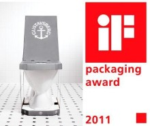 Gustavsbergs Nautic klosett prisbelønnet i iF Packaging Award