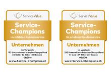 Service-Champions in Österreich und der Schweiz gekürt
