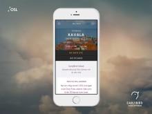 Lanserer digital reisetjeneste til høstferien