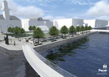 Nytt parkeringshus Bagersplats, Malmö Centraltstation - ny gångbro